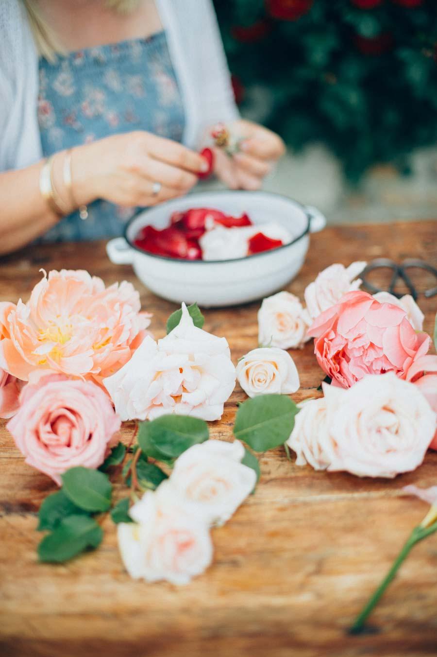 Essbare Blumen und Blüten für Torten und Kuchen