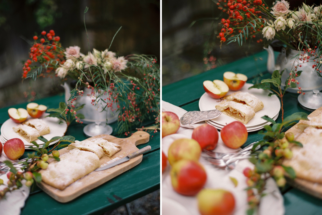 Apfelkuchen, Apfelschlangerl aus Kochbuch Echte Kuchenliebe von Silvia Fischer
