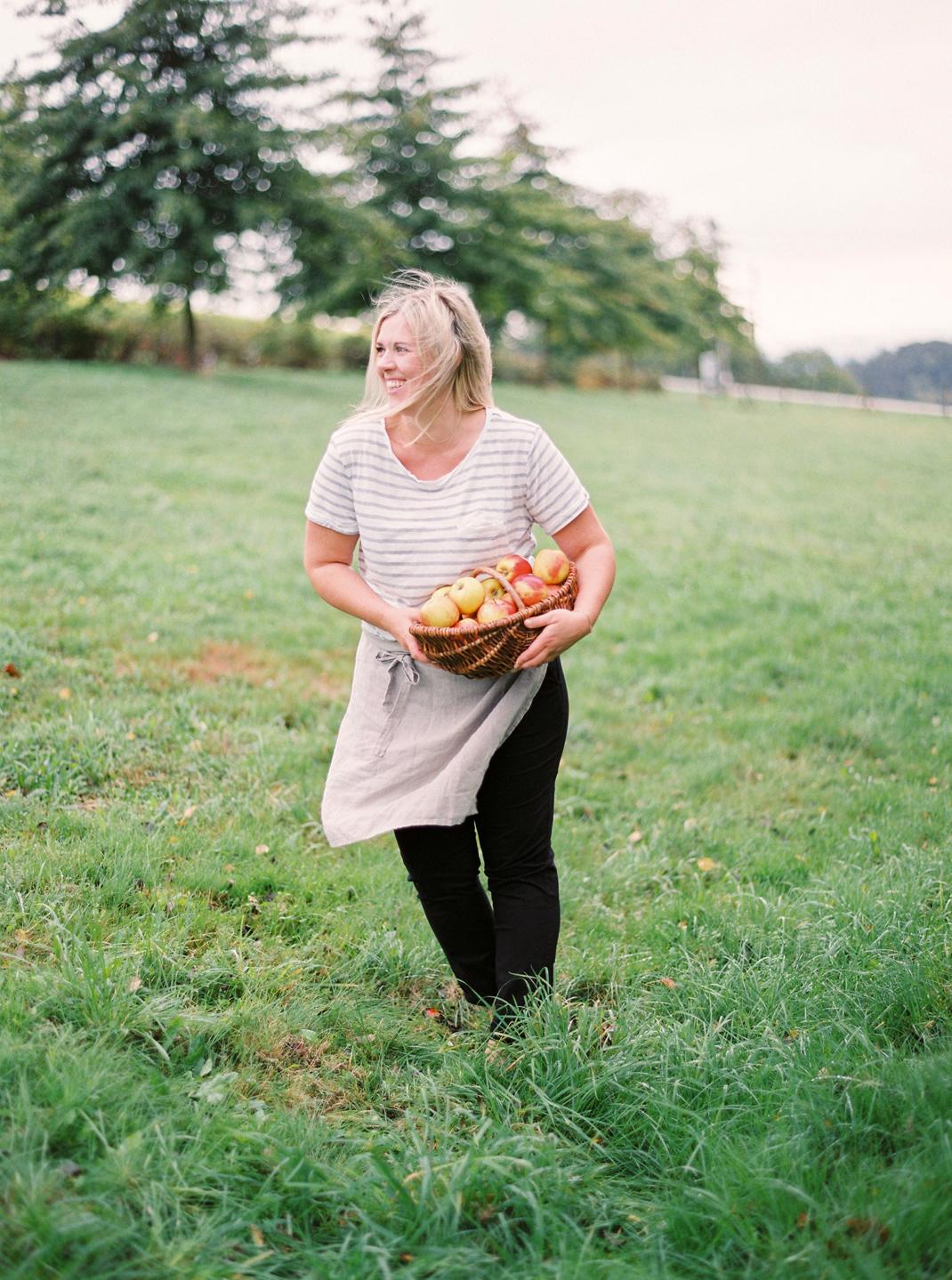 Silvia Fischer. Echte Kuchenliebe. Apfelkuchen Rezept