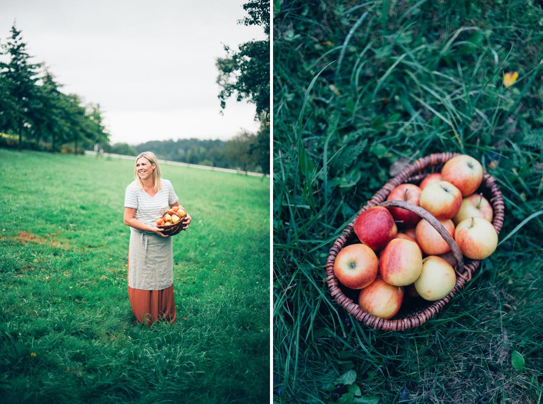Silvia Fischer. Echte Kuchenliebe. Apfelschlangerl Rezept