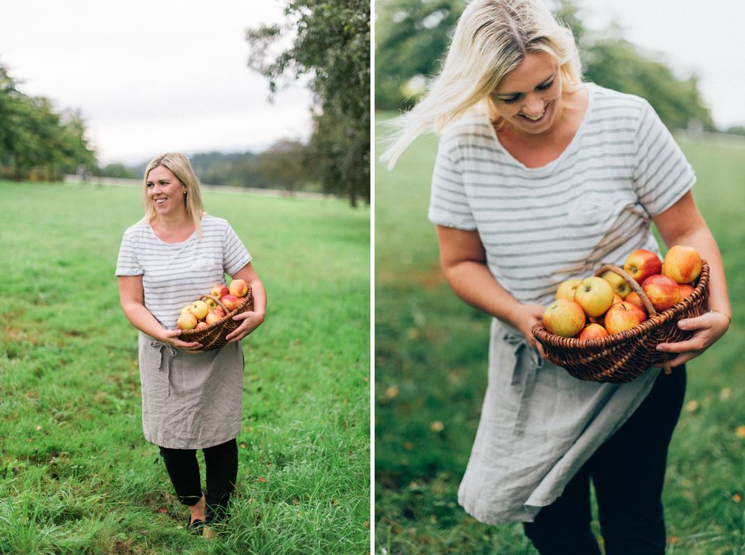 Silvia Fischer. Echte Kuchenliebe. Rezept Apfelkuchen