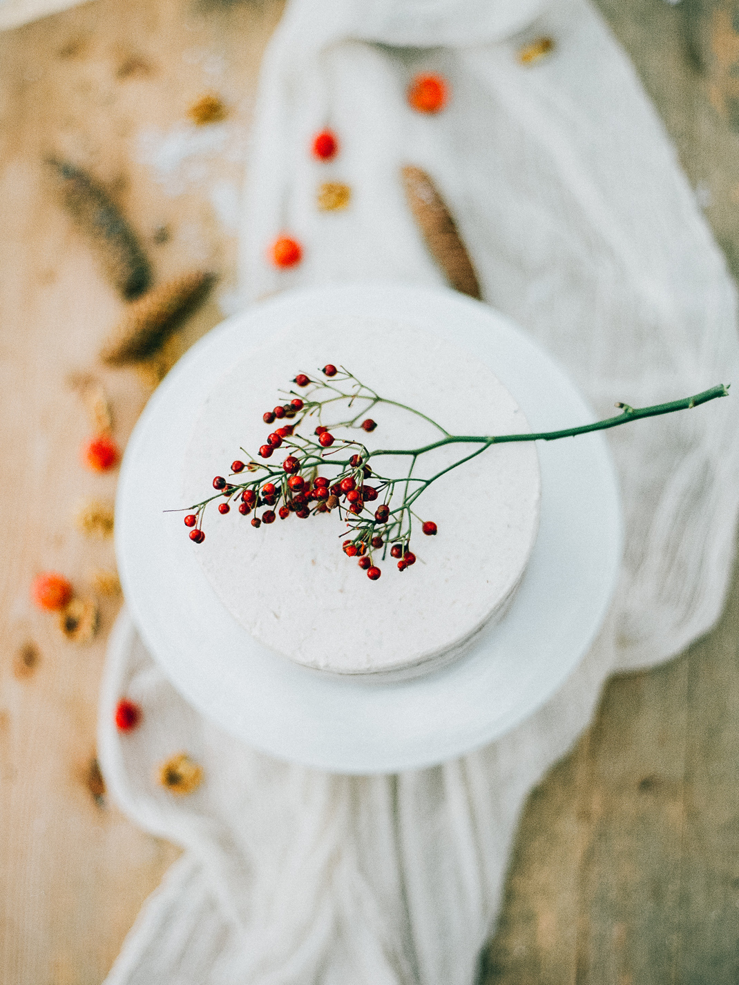 Silvia Fischer. echte kuchenliebe. Weihnachtsdessert Bratapfeltorte Rezept