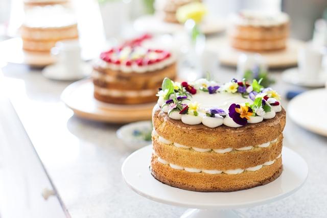 Naked Cake backen mit Hofer und Silvia Fischer