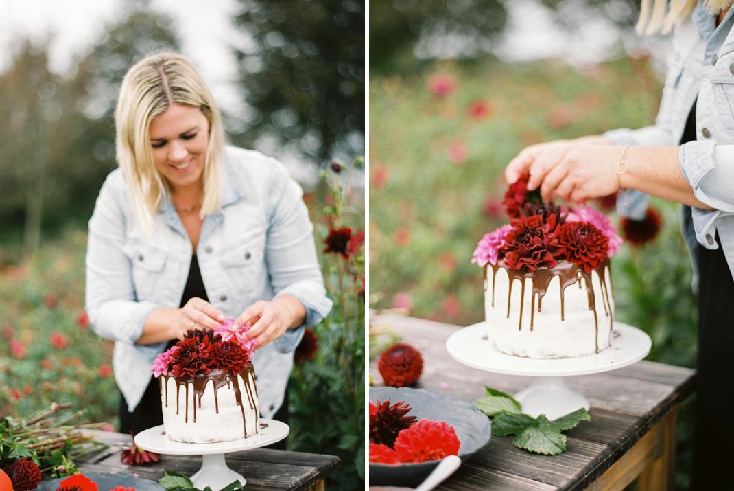Silvia Fischer. Echte Kuchenliebe. Drip Cake Rezept