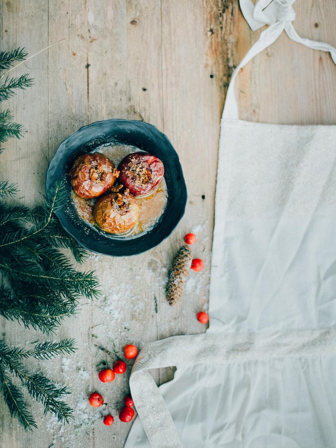 Bratapfeltorte Weihnachtsdessert, Rezept von Silvia Fischer. echte kuchenliebe