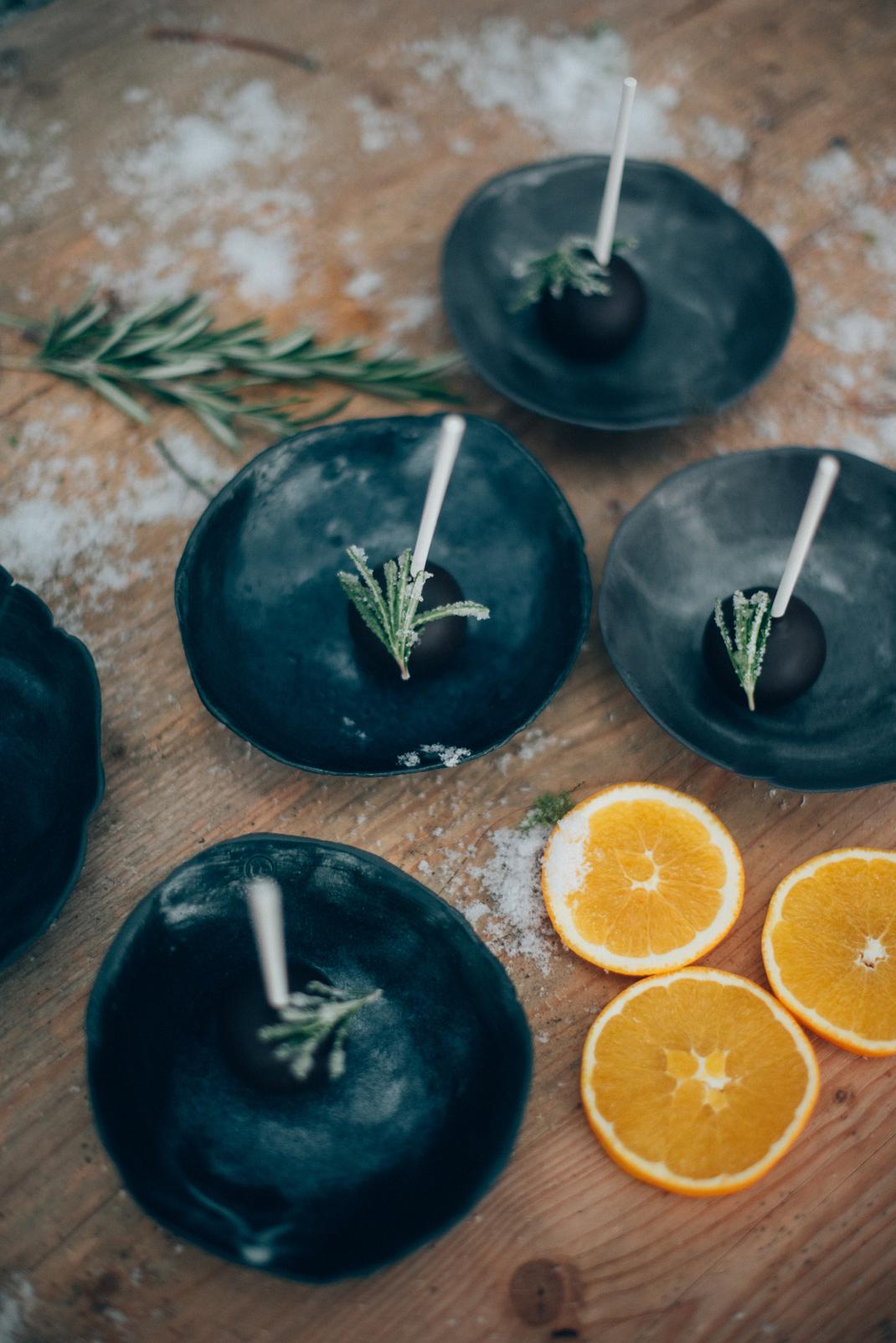 Schokolade Orangen Cake Pops. Bestes Rezept der Welt. Silvia Fischer. echte kuchenliebe