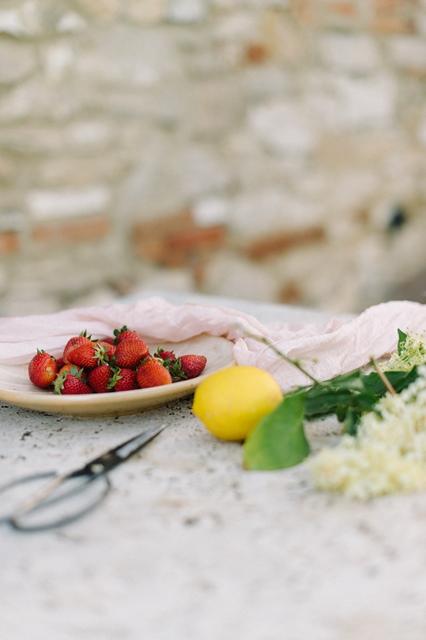 Erdbeer Panna Cotta Torte Rezept Silvia Fischer, echte Kuchenliebe