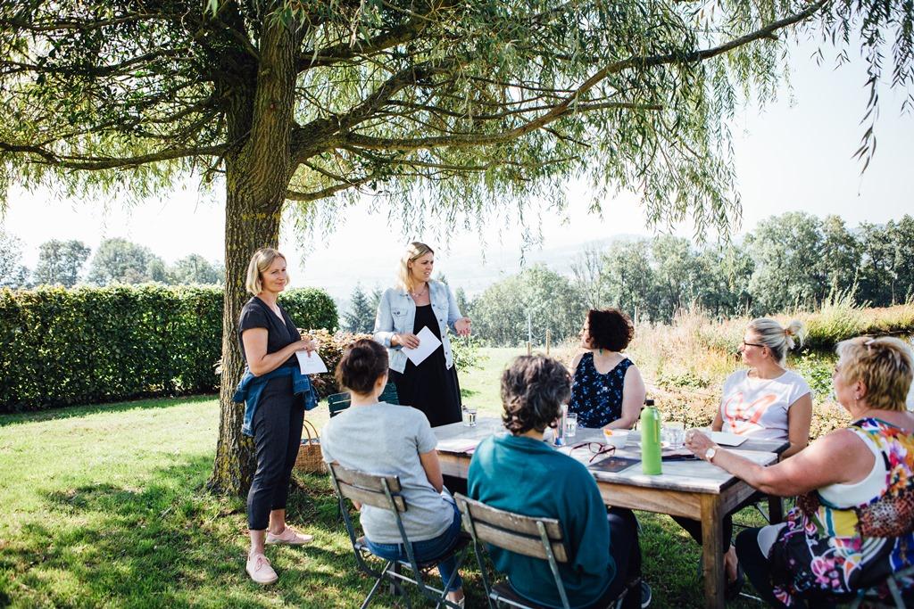 Bringe deine Träume zum Blühen: Businessbrunch mit Silvia Fischer und Christine Mittermayr